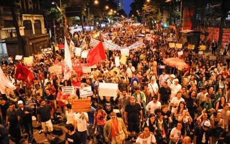 MANIFESTACAO  RIO DE JANEIRO - RJ - 27/06/2013
