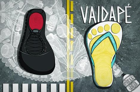 Clique na imagem para ver a versão online da Revista Vaidapé #03