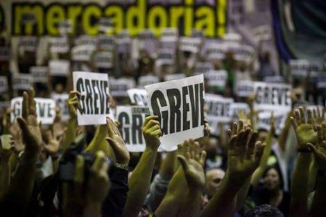 A paralisação dos metroviário em São Paulo escancarou as limitações ao direito de greve (Foto:Mídia Ninja)