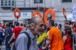 Manifestantes se concentraram no Central Park. (Foto: Thiago Gabriel)